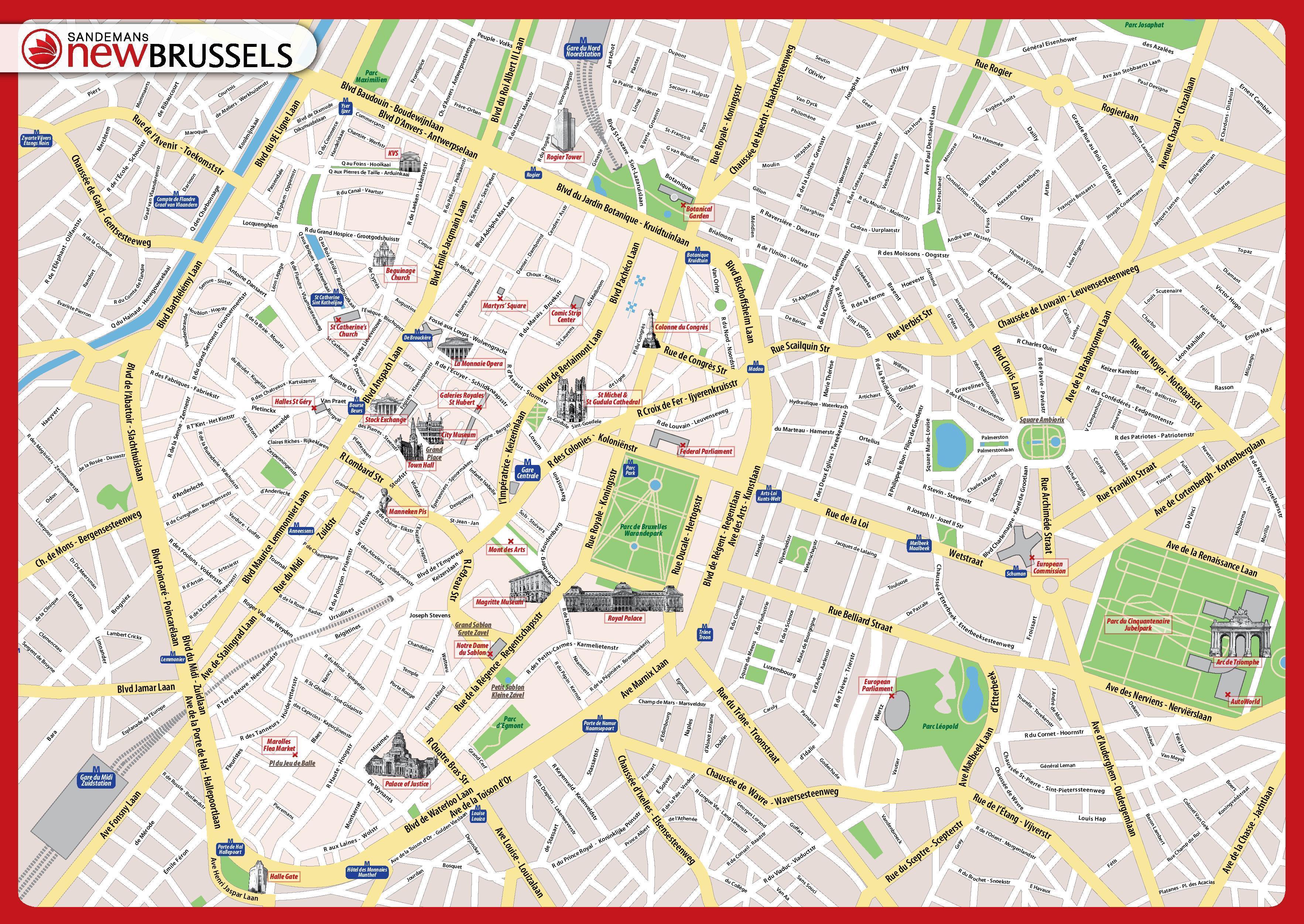 Mapa Turistico Budapest Pdf.Bruselas Mapa Turistico Pdf Mapa De Bruselas Mapa